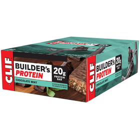 CLIF Bar Builder's Protein Bar Box 12x68g Chocolate Mint